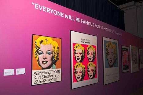 Andy Warhol loi Marilyn-sarjansa vuonna 1964. Se on yksi Warholin tunnetuimmista teoksista.
