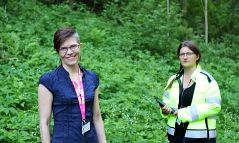 Kaupunginpuutarhuri Virpi Hannukselan ja metsäharjoittelija Piela Leinosen mukaan nokialaiset ovat jo käyneet varsin aktiivisesti vastaamassa maanantaina auenneeseen kyselyyn..