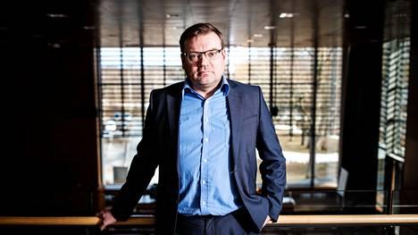 Ylöjärven talousjohtaja Juha Liinavuori kuvattiin maaliskuussa 2020.