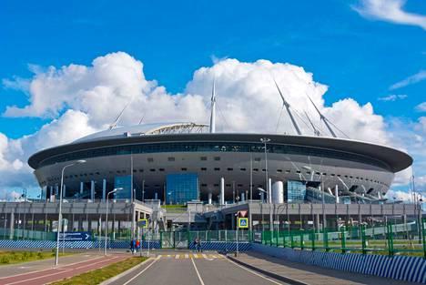 Pietarin Ristisaaressa sijaitsevalla stadionilla on määrä pelata neljä EM-kisaottelua ensi kesänä.