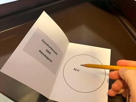 Seuraavat eduskuntavaalit järjestetään vuonna 2023, edelliset vaalit pidettiin 2019. Kuvituskuva.