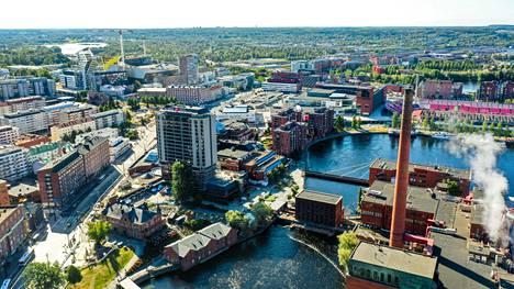 Tampereen ydinkeskustassa hinnat ovat kirineet hieman alueen asukkaiden tuloja nopeammin.