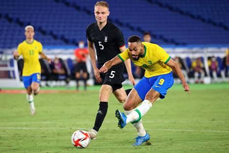 Brasilia ja Matheus Cunha hallitsivat Saksaa vastaan