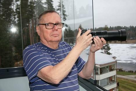 Keuruulaisen Jorma Soinisen valokuvausharrastus alkoi jo 1970-luvun alkupuolella.