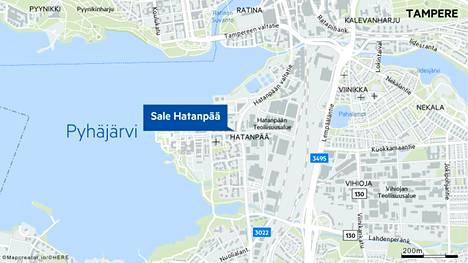 Epäilty lasten ahdistelutapaus sattui Tampereen Hatanpään Sale-kaupan edustalla ja lähistöllä.