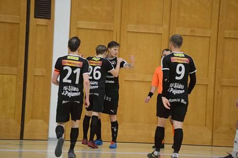 Mikko Heritty oli pelin tehokkain, kaksi osumaa ja yksi maaliin johtanut syöttö.