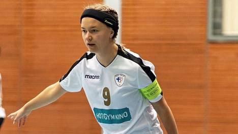Siiri Perälä valittiin naisten futsal-liigan joulukuun pelaajaksi.