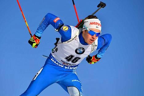 Tero Seppälä on Suomen miesten menestystoivo MM-kisoissa Italiassa.