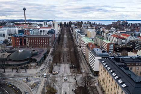 Tampereella keskustan alueen yksiöt, kaksiot ja kolmiot hyvistä yhtiöistä kiinnostavat edelleen.