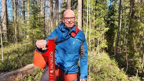 Metsänhoidon operaattori Jouni Metson mukaan Keuruulla metsänhoitotyöhön osallistuvan työvoiman saatavuus on ollut kohtuu hyvä jo vuosien ajan.