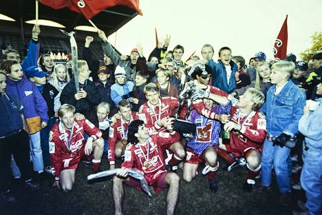 Suomen mestarit 1993.