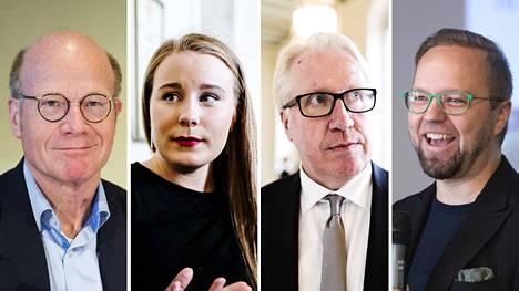 Pirkanmaa tuskin saa omaa meppiä. Maakunnan kärkinimiä eurovaaleissa ovat Kimmo Sasi (kok.), Iiris Suomela (vihr.), Veikko Vallin (ps.) ja Olli-Poika Parviainen (vihr.).