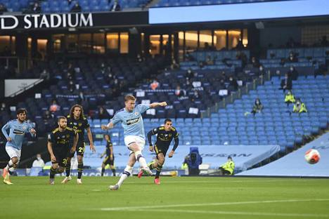 Joutuuko Arsenal seuraamaan vain katseella, kun Kevin De Bruyne ja Manchester City jyräävät?