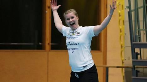 Netta Hannulalla on mahdollisuus päästä juhlimaan EM-kisapaikkaa sunnuntaina.