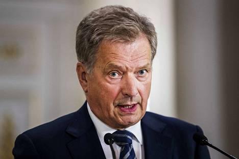 Presidentti Sauli Niinistö nauttii vahvaa kansansuosiota.