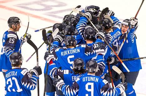 Suomi kaatoi ennakkosuosikki USA:n 1–0.