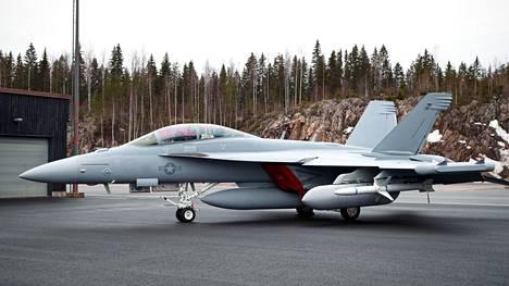 Baana 21 -harjoituksissa lentää esimerkiksi Boeing F/A-18 Super Hornet.