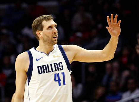Dirk Nowitzki, 40, Dallas Mavericks.