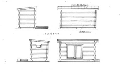 Kunta rakennuttaa esteettömiä mökkejä leirintäalueelle.
