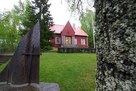 Pinsiön kirkko. Arkistokuva.
