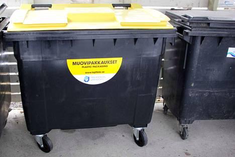 Nokialaiset taloyhtiöt ovat voineet huhtikuun alusta alkaen tilata Pirkanmaan Jätehuolto Oy:ltä siirrettävän muovinkeräysastian pihoihinsa.