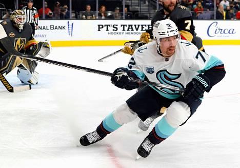 Joonas Donskoi pelasi 400. NHL-pelinsä.