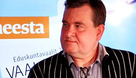 Eduskuntavaaliehdokas Seppo Tamminen.