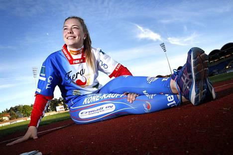 Julia Valtanen on lyönyt tällä kaudella Feran B-tytöille 22 (1+21) juoksua seitsemässä pelaamassaan ottelussa.