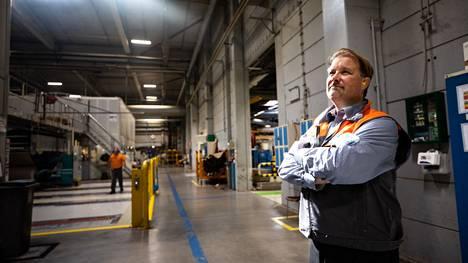 Ari Viinikkala nimitettiin DS Smithin Suomen-toimintojensa toimitusjohtajaksi elokuussa 2018. Hän työskenteli yhtiössä jo sitä ennen talous- ja varatoimitusjohtajana. Viinikkala kuvattiin Lielahden-tehtaassa syyskuun alussa.