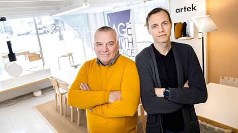 Laatukalusteiden ja designin elinkaari on pitkä, ja niiden tarina jatkuu sukupolvelta toiselle, tietävät toisen ja kolmannen polven kauppiaat Antti ja Valtteri Lamminen.