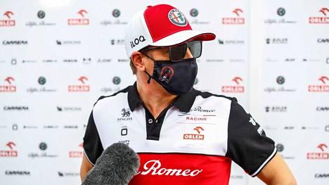 Kimi Räikkösen F1-uraa on jäljellä kuusi osakilpailua.
