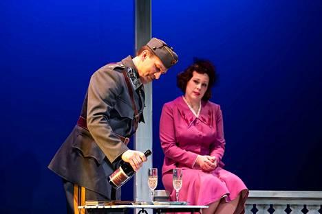 Mannerheim ja saksalainen suudelma -näytelmän ensi-ilta oli 25. tammikuuta Porin teatterissa.