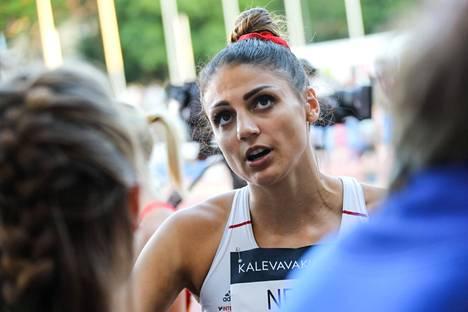 Neziri aloitti kilpailukautensa Vaasan olympiaranking-kilpailuissa tiistaina.