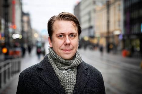 Apulaispormestari Jaakko Stenhäll haluaa Tampereen pormestariksi.