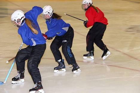 Merikarvian Jääurheilijoiden ringettejoukkueessa on pelaajia myös ympäristökunnista.