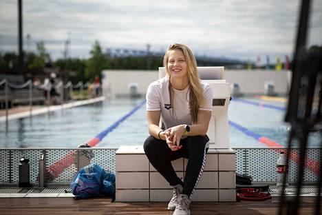 Ida Hulkko oli loistovauhdissa maailmancupissa