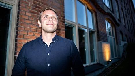 Tamperelainen Jaakko Mustakallio ilmoitti torstaina hakevansa vihreiden varapuheenjohtajaksi. Mustakallio kuvattiin vihreiden kuntavaalivalvojaisissa Tampereella 13. kesäkuuta.