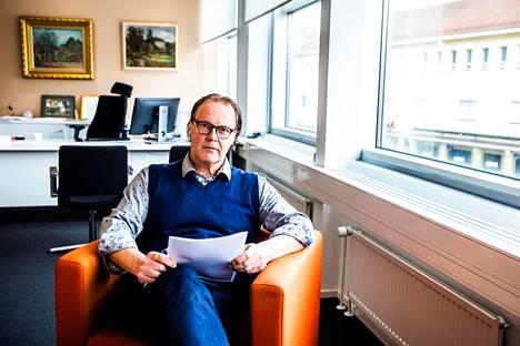 OP Etelä-Pirkanmaan toimitusjohtaja Juha Luomala.