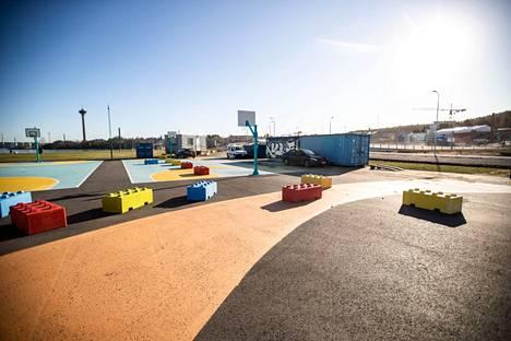 Santalahden tapahtumapuistoa (kuva) suunniteltiin Rockfestin tapahtumapaikaksi kesäksi 2020. Haave kaatui, samoin kävi tämän kesän Rockfestille Ratinassa.