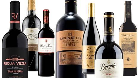 Arvioimme kuusi Riojan gran reservaa ja vuoden punaviinin.