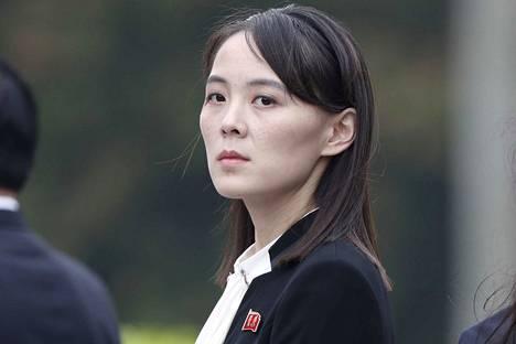 Aiemmin hyvän tahdon lähettiläänä esiintynyt Pohjois-Korean johtajan Kim Jong-unin sisko Kim Yo-jong uhkasi Etelä-Koreaa sotilaallisilla toimilla.