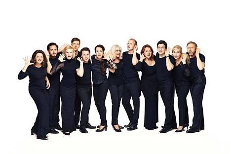 Tanskalainen kamarikuoro Ars Nova Copenhagen näytti laulamisen taitoa Aleksanterin kirkon konsertissa.