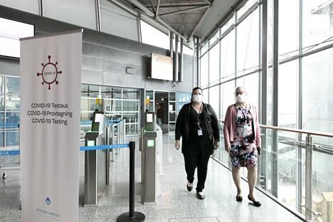 Helsinki-Vantaan lentoasemalla aloitettiin koronaviruksen lentokenttätestaus 3. elokuuta.
