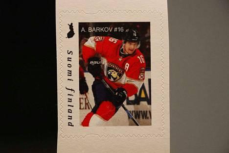 Barkov-postimerkkiä on tehty vain 540 kappaletta.