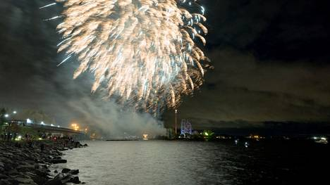 Virallisia Särkänniemen kauden päättäjäisiä juhlistettiin niin ikään ilotulituksella 25. syyskuuta. Nyt päättyy Karmiva karnevaali -tapahtuma.