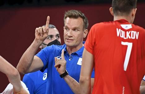 Tuomas Sammelvuon valmentama Venäjä voitti Brasilian. Dmitry Volkov keräsi illan korkeimman pistesaaliin 19.