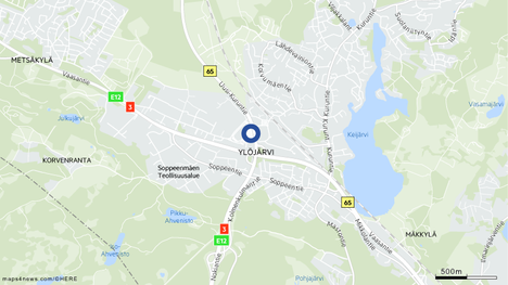 Ylöjärven Elotiellä sattui kahden auton peräänajo lauantaina iltapäivällä.