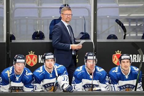 Venäjän nuorten maajoukkue yllätti Suomen Helsingin EHT-turnauksen ottelussa marraskuussa.