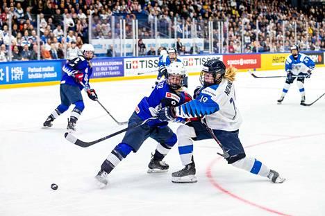 Petra Niemisen Suomi taisteli historiallisesti MM-kullasta sunnuntai-iltana Espoossa.