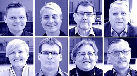 Vaalipaneelin osallistui kahdeksan eduskuntavaaliehdokasta.
